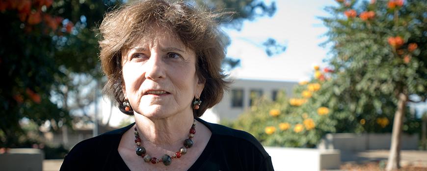 Scripps geochemist Miriam Kastner
