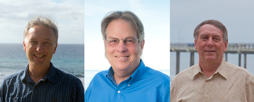 three scientists ASLO fellows