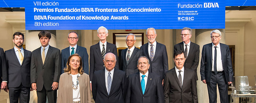 2016 BBVA Frontiers of Knowledge honorees