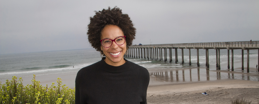 Scripps Oceanography alumna Ayana Elizabeth Johnson. Photo: Erika Johnson/UC San Diego