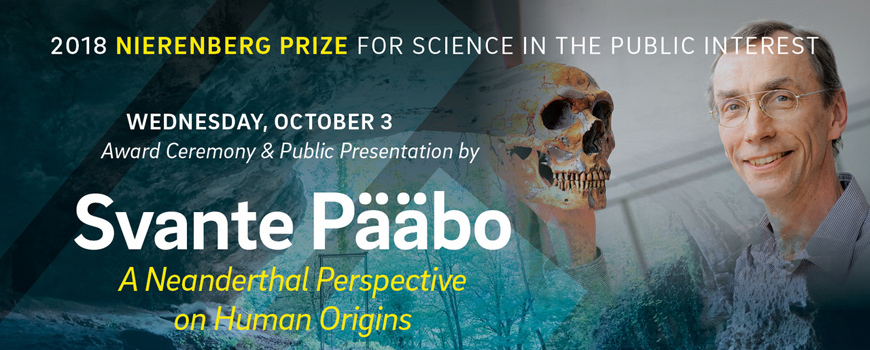 Evolutionary anthropologist to deliver a free public lecture at Scripps Oceanography on Oct. 3