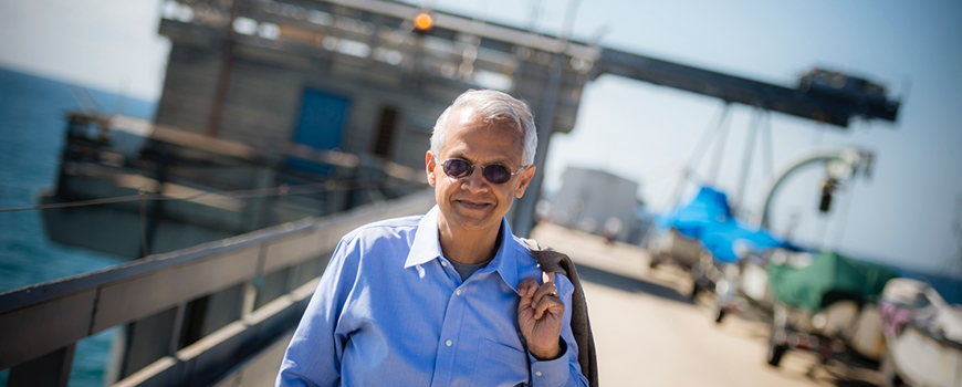 Scripps climate and atmospheric scientist Veerabhadran Ramanathan. Photo: Erik Jepsen/UC San Diego