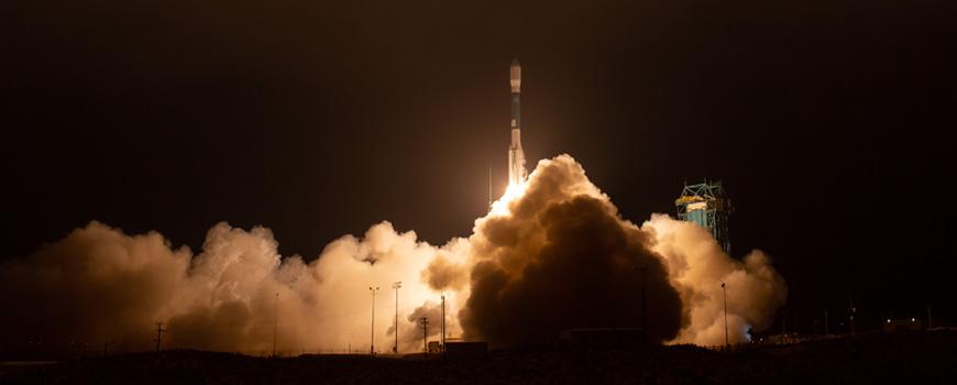 ICESat-2 launch.
