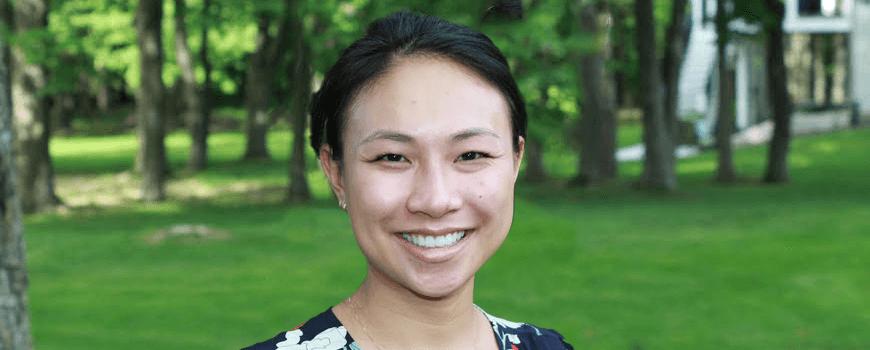 Scripps graduate student Jia Jia Zhang.
