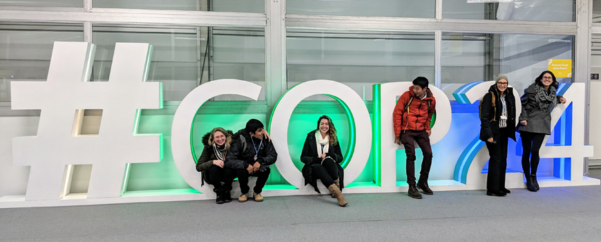 Large delegation of students and researchers from Scripps Oceanography and University of California participate in COP24 climate conference in Poland