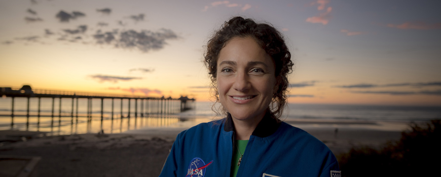 Scripps Oceanography alumna Jessica Meir, PhD '09, launches to the International Space Station, fulfilling a lifelong dream