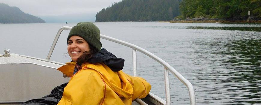Scripps graduate student Daria Sheik.