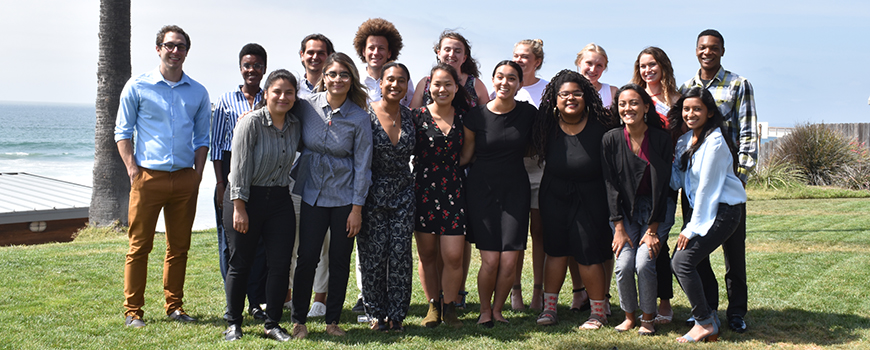 2019 fellows at the SURF research symposium.