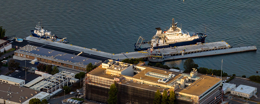 Aerial photo of Nimitz Marine Facility from 2016