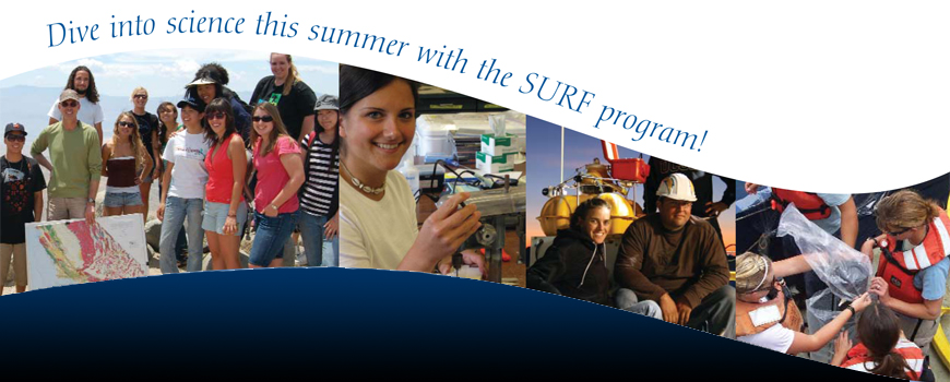 REU - SURF Program