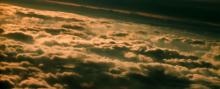 Lumpy stratocumulus clouds. Photo courtesy of NOAA.