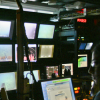 Researchers control ROV Jason on the bottom of the Gulf of California from the control room onboard R/V Atlantis.